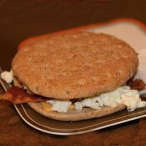 egg white sandwich
