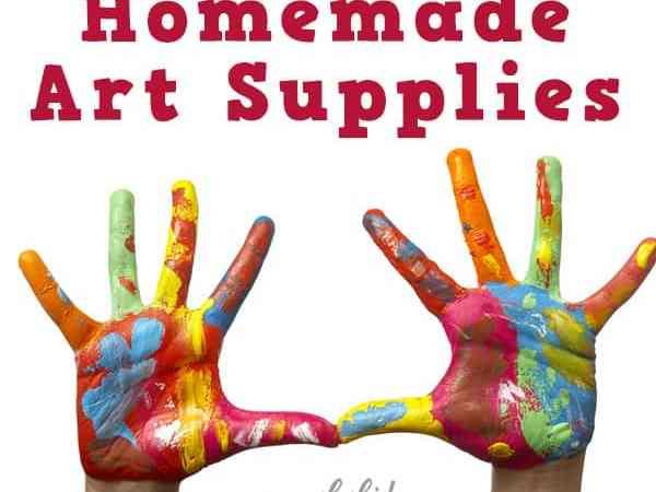 10 Recipes for Homemade Art Supplies