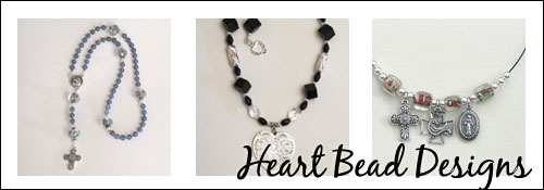 Heart Bead Designs