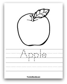 apple printable