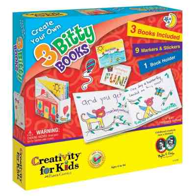 3 Bitty Books Kit for Book Making