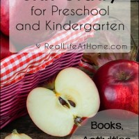 Apple Unit Study for Preschool and Kindergarten