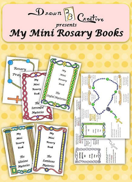 Mini Rosary Booklets