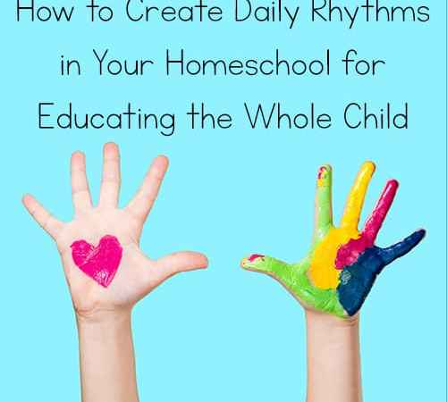 Head, Heart, Hands: How to Create Daily Rhythms in Your Homeschool for Educating the Whole Child