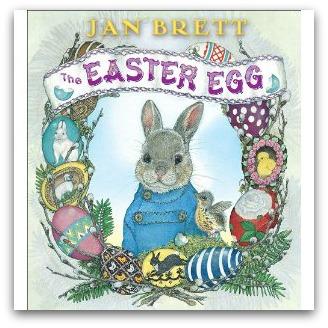 Jan Brett Easter Egg