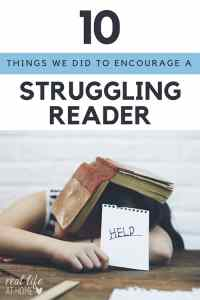 Is your child a reluctant or struggling reader? Here are strategies you can use at home to help struggling readers.