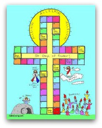 printable easter countdown calendar