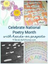 Celebrating National Poetry Month with Hands-on Poetry Projects