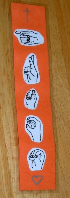 ASL Bookmark