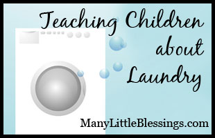 Teaching Children about Laundry