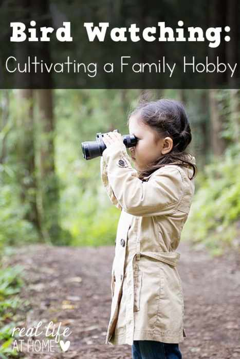 Bird watching and identification is an ideal family hobby that everyone can enjoy. Here are a few tips for developing the birding habit in your own family. | Real Life at Home