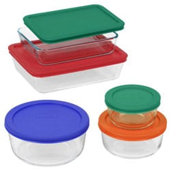 pyrex storage set