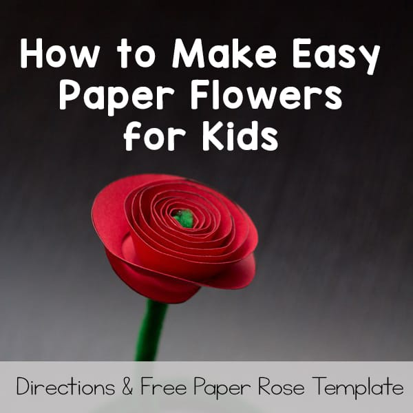How To Make Flower Out Of Paper - Easy! - YouTube | 600x600