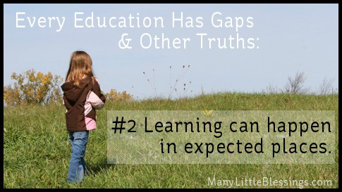 Learning Can Happen in Unexpected Places
