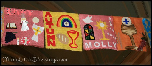 First Holy Communion Banner Ideas