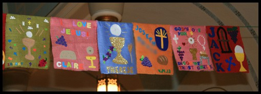 First Holy Communion Banners