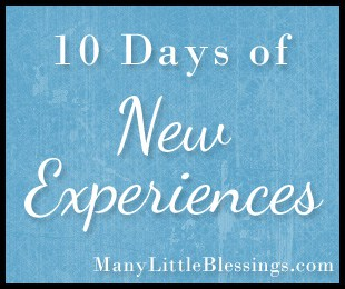 10 Days of New Experiences