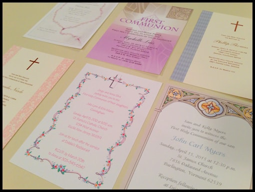 Communion Cards Review Plus a Giveaway