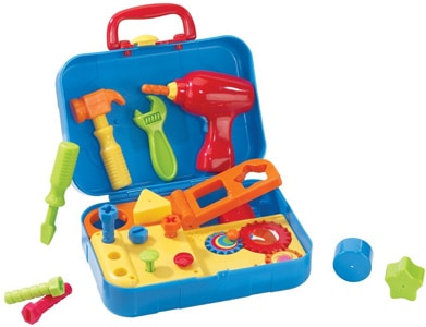 portable tool set for toddlers