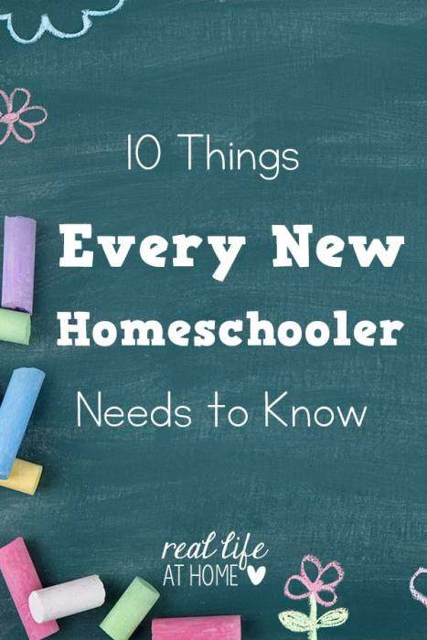 Are you a new homeschooler? Here are tips and encouragement that should help you during your first year of homeschooling. | Real Life at Home