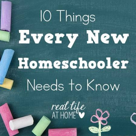 Are you a new homeschooler? Here is some advice and encouragement that should help you during your first year of homeschooling. | Real Life at Home