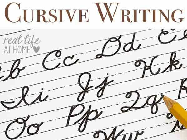 Tips for Teaching Cursive Writing {and Why You Should Teach it First}