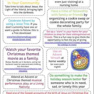 10 Activities to Get Your Family Ready for Christmas printable   ManyLittleBlessings.com