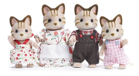 calico critters cat family