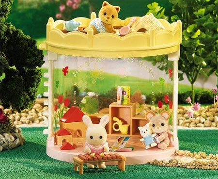 calico critters baby playset