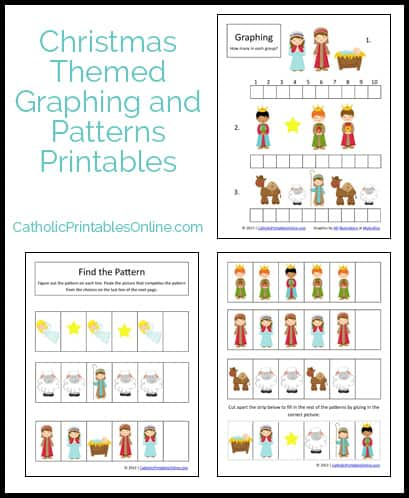 Christmas math printables set