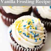 Light and Airy Homemade Vanilla Frosting
