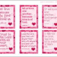 Scripture Valentine Cards for Kids