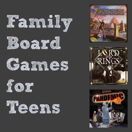 Teen Board Games - RealLifeAtHome.com