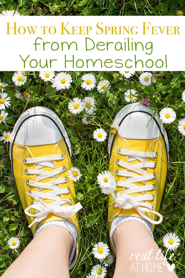 How to Keep Spring Fever From Derailing Your Homeschool