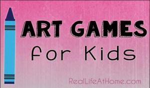 Art Games for Kids