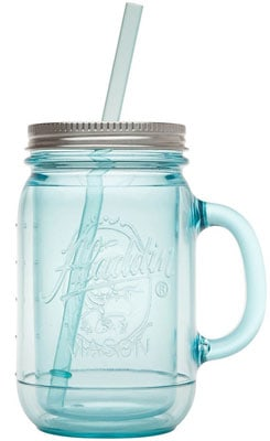 Insulated Mason Jar with Lid