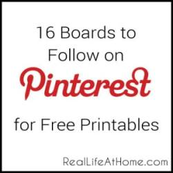 Free Printables on Pinterest