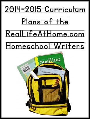 Homeschool Curriculum of the Real Life at Home Writers