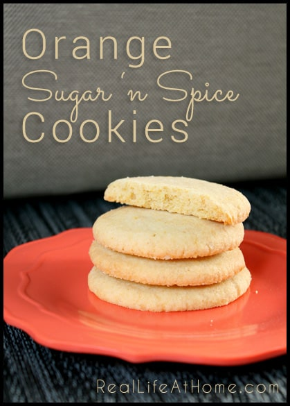 Orange Sugar 'n Spice Cookies