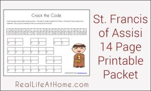 St. Francis Printables Packet
