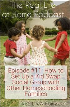 How to Set Up a Kid Swap Social Group with Other Homeschooling Families (Podcast)