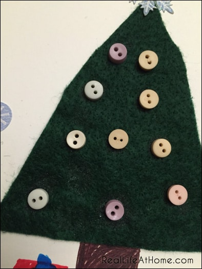 Kid-Friendly Christmas Card Craft