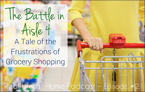 The Battle in Aisle Four: A Tale of Grocery Shopping (Episode 21)