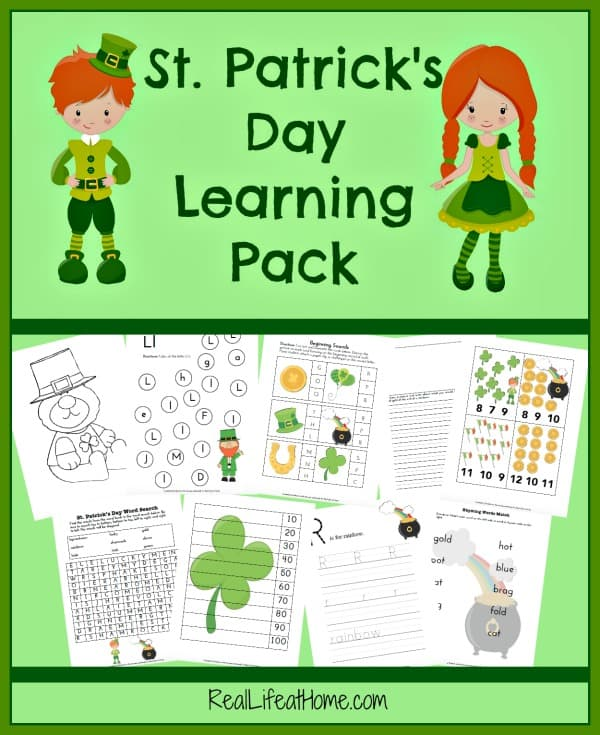Free St. Patrick's Day Printable and Fun Activities for Grades K - 3
