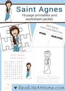 Worksheet On Capitalization Excel Free Lent Crossword Puzzle Printable For Kids And Teens Real Estate Investment Worksheet Pdf with Self Esteem Worksheets Pdf Pdf Page Saint Agnes Printables And Worksheet Packet Perfect For Children In  Preschool Through Early First Grade Halloween Worksheets Word