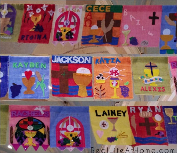 Catholic First Communion Banners Designs (Over 75 Examples!)