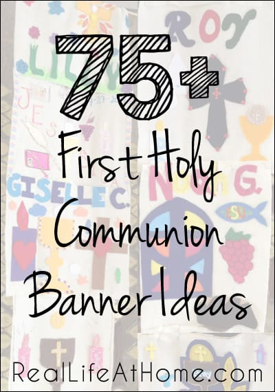 photo regarding First Communion Banner Printable Templates named 75+ Layout Tips for To start with Communion Banners for Catholic Young children