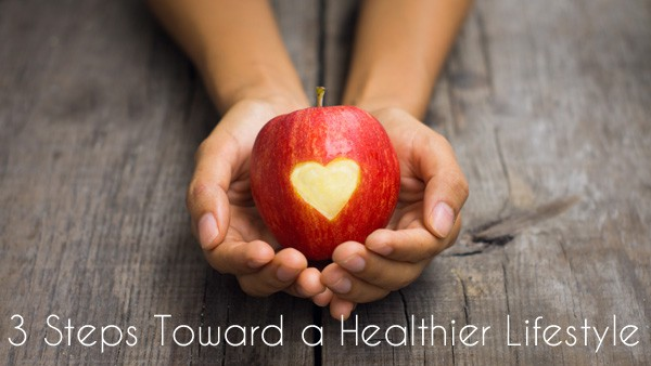 Three Steps Toward a Healthier Lifestyle | RealLifeAtHome.com