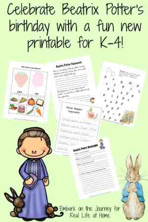 Frequency Distribution Worksheet Excel What Is An Adverb Worksheet  Real Life At Home Weather Worksheets Middle School Pdf with Math Worksheets 7 Grade Pdf Celebrate Beatrix Potters Birthday With A Free Printable For K   Reallifeathome Free Online Math Worksheets For 4th Grade