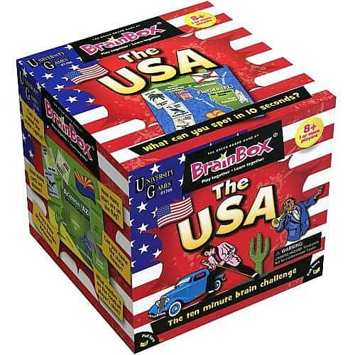 geography games Brain Box USA